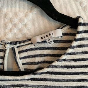 Funky striped blouse